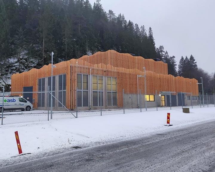 Gasslosa fasad